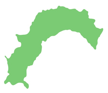 kochi: map of Kochi prefecture, Japan