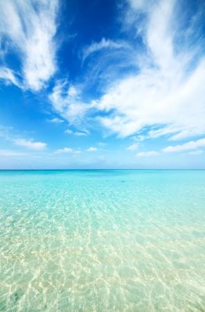 prefecture: Japanese clean white beach in Okinawa prefecture