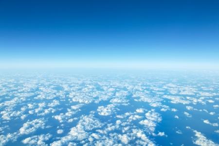 ciel avec nuages: panorama nuage Banque d'images