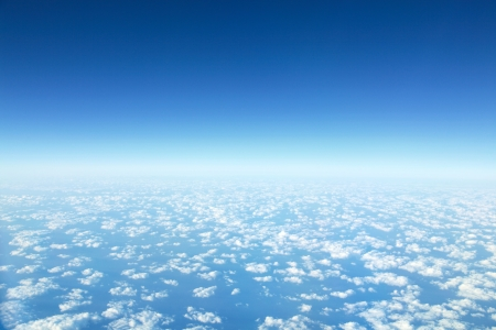 high view: panorama Cloudscape