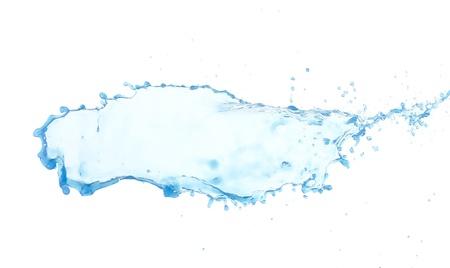 water splash isolated on white background Stock Photo - 19503869