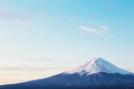 close-up van de Mt Fuji