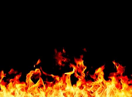 blazed: flame Stock Photo