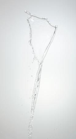 watery: water splash Stock Photo
