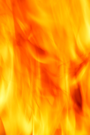 blazed: close up of fire