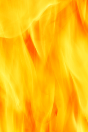 close up of fire photo
