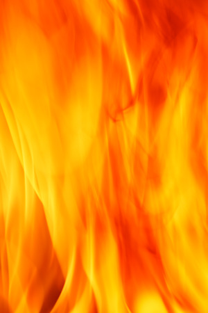 waver: close up of fire texture