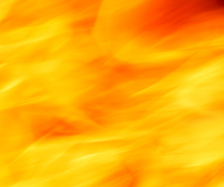 close up of flame photo