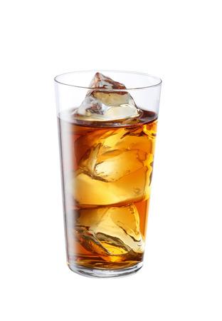 iced tea: iced oolong tea