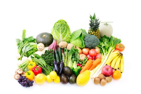 dikon: Hortalizas y frutas