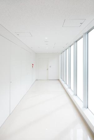passageway: white passageway
