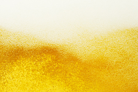 close up of the beer