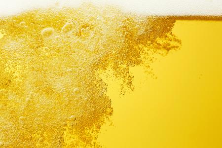 close up van het bier