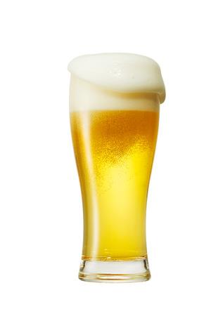 ビールのクローズ アップ