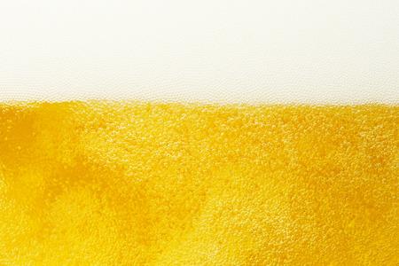 close-up van het bier