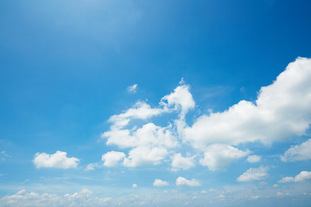 the clear sky Stockfoto