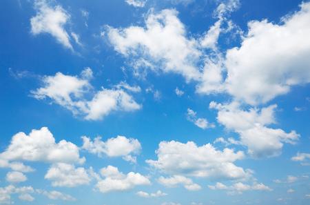 landscape of the clear sky Standard-Bild