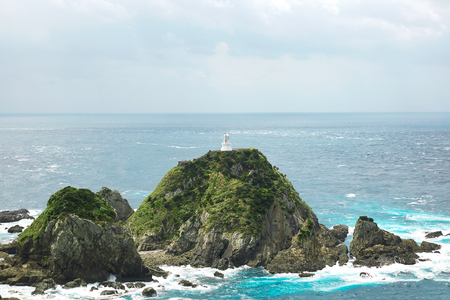 sata: the landscape of the seascape from Sata cape in Japan