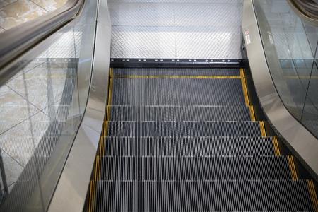 indoor inside: the  escalator