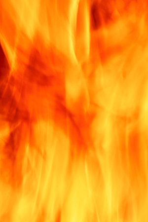 blazed: close up of the fire