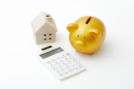 Het geld besparen Stockfoto