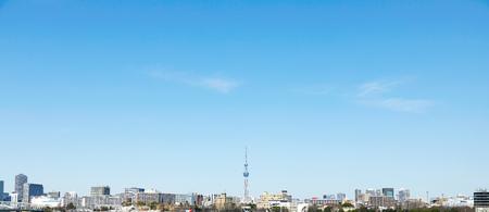 landscape of Tokyo city