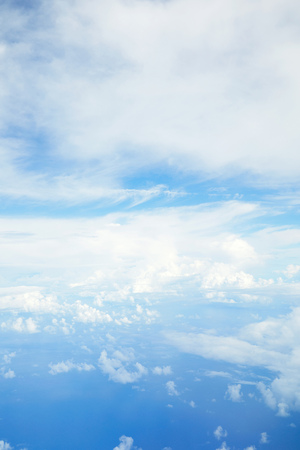 landscape of the clear sky Zdjęcie Seryjne