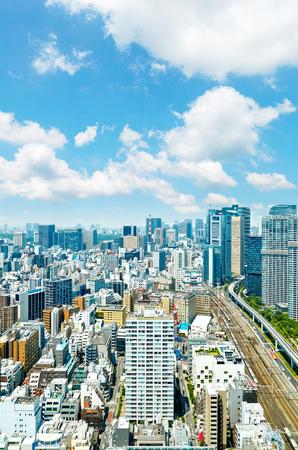 landscape of Tokyo Zdjęcie Seryjne