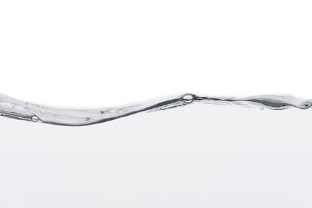 water wave on white background Zdjęcie Seryjne