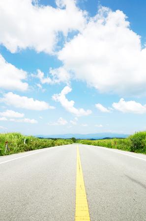 the straight road Zdjęcie Seryjne