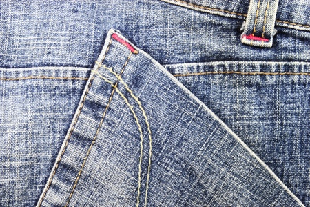 Blue jean abstract Stock Photo - 13542994