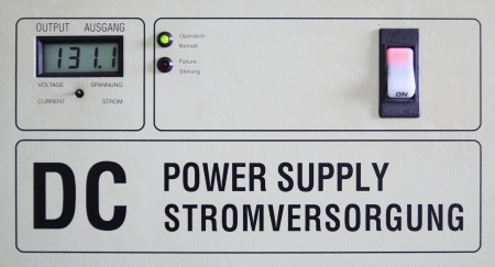 DC electric power suply meter  photo