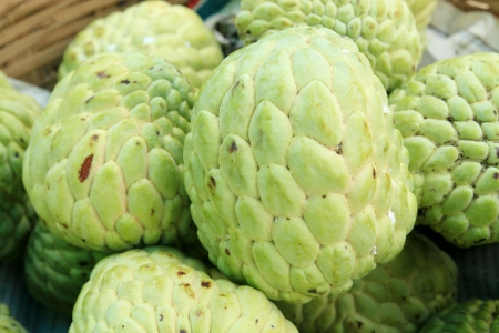 green sugar apple photo
