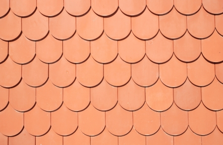 seamless texture of brown roof photo