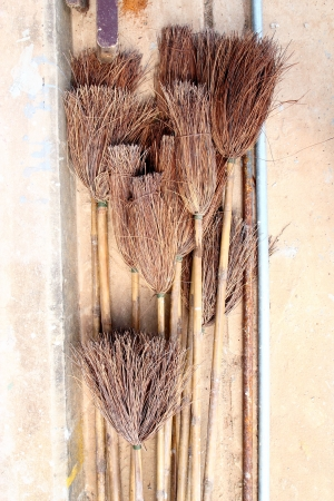 broom handle: Long broom handle