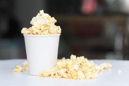 popcorn and cup