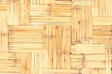 Bamboo weave background. Stock Photo