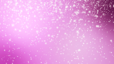 ray of light: Christmas background with small snowflakes star particles.