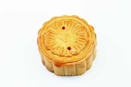 Mooncake a popular chinese gift during the mid autumn festival photo