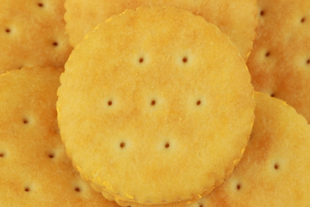 Close up of delicious biscuits background  photo