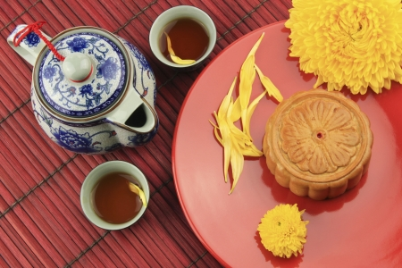 Dessert for the Chinese Moon Festival  photo