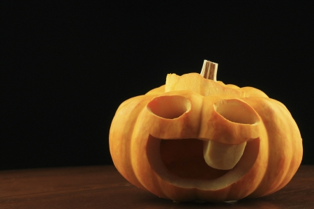pumpkin is a fruit that is commonly used to decorate the house on halloween