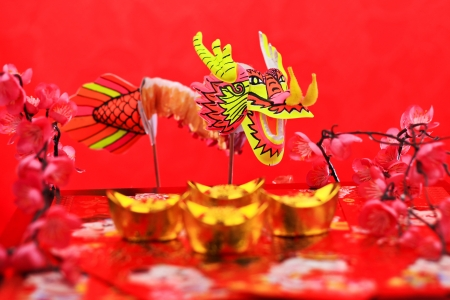 decorations for chinese new year  photo