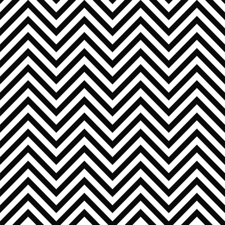 MODERN ZIG ZAG PATTERN Classic chevron seamless pattern. vector illustration pattern for website design or print Ilustracja
