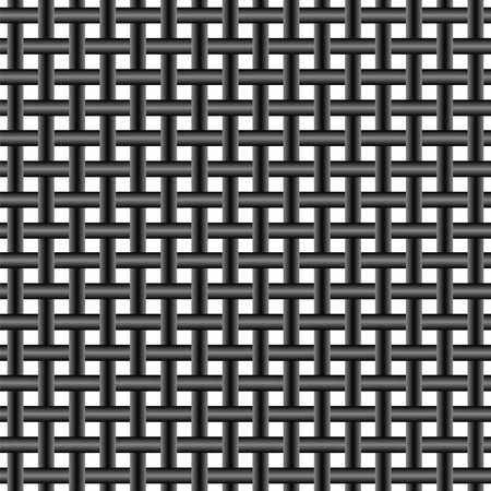 mesh: mesh of steel wire, seamless pattern twisted metal wire mesh background, vector texture Illustration
