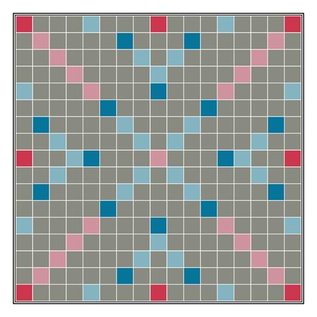 Bordspel maken van woorden uit letters Scrabble, vector sjabloon educatieve leren spellen