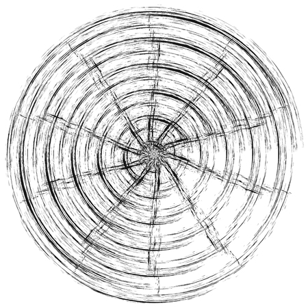 spinning wheel effect of the vortex vector the wheel is in motion drawn with a brush effect speed Stock Photo
