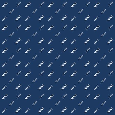 Noticias de fondo el ángulo de la palabra, patrón transparente de vector para sustitución de video blog Chroma Key, noticias de fondo transparente para la televisión, vlog. Foto de archivo - 88363432