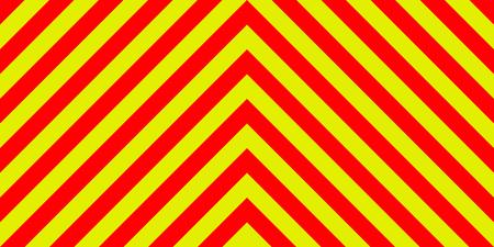 구급차 비상 사태 배경 대각선으로 노란색과 빨간색 줄무늬, 구급차 긴급 대각선 줄무늬, 교통 안전 경고