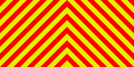 ambulance nood teken achtergrond gele en rode strepen diagonaal, ambulance nood diagonale strepen, een waarschuwing voor verkeersveiligheid